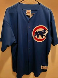 VINTAGE  SAMMY SOSA Chicago Cubs 1998 Majestic AUTHENTIC Jersey Sewn B Indianapolis, 46234