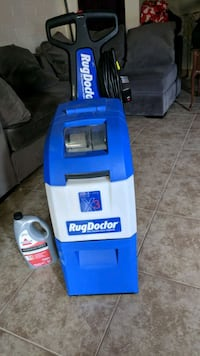 blue and black Hoover upright vacuum cleaner Scottsdale, 85257