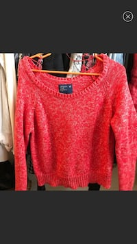 Women's red sweater Greeley, 80634