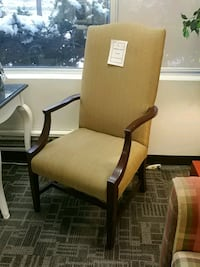 RA high back accent chair