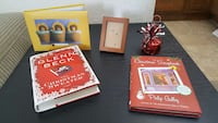 Photo Album Picture Frame 2 Xmas Books Paperweight Anchorage, 99501