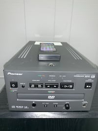PIONEER DVD-B7400 PROFESSIONAL PAL/NTSC DVD/CD PLAYER WITH REMOTE