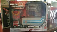 Transformers Optimus Prime plastic toy set Saint Catharines, L2T 3B2
