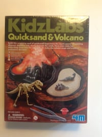 Volcano Activity Kit KidzLabs Quicksand by 4M  London