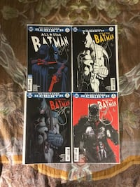 All Star Batman set of 4 Signed by Scott Snyder Laurel, 20724