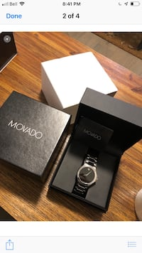Movado watch brand new in box Innisfil, L0L 1W0