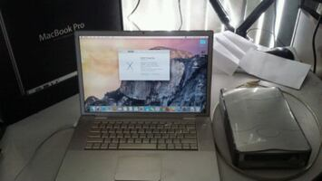 Macbook Pro + external hard drive