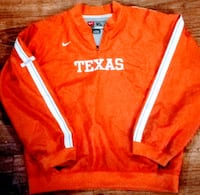 Nike Men's NCAA Official Burnt Orange Texas Longhorns Sideline Jacket! Plano, 75074