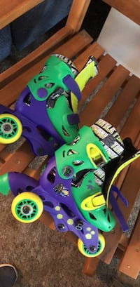 Ninja turtle adjustable size 6-9 kids skates  Glenn Dale, 20769
