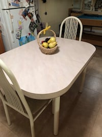 White kitchen dining table with 4 chairs South Plainfield, 07080