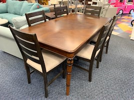 New Isle Palms Dining Table w/ Leaf