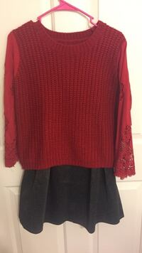 red and black long-sleeved shirt Rowland Heights, 91748
