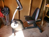 Three-in-one exercise bike