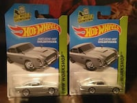 HOT WHEELS JAMES BOND ASTON MARTIN DIECAST
