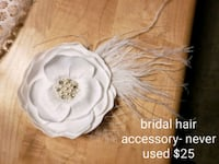White bridal hair accessory Brampton, L6V 2S8