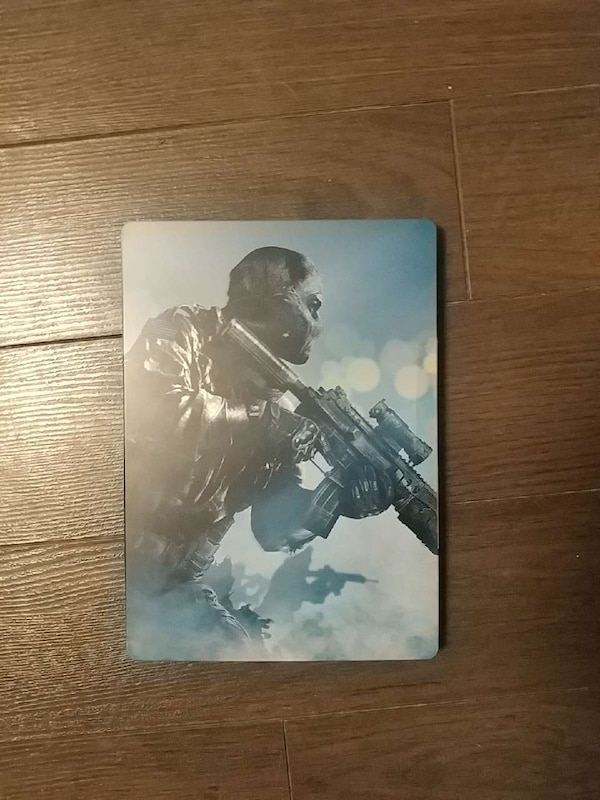 COD Ghosts Xbox 630 in the steel case