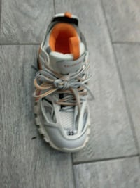 pair of gray-and-orange running shoes Queens, 11412