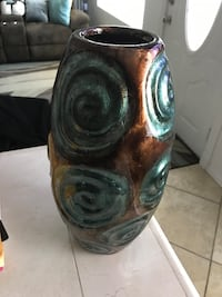 New Brown & Turquoise Vase from Kirkland's Las Cruces, 88001