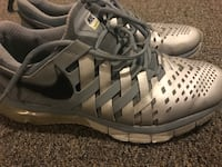 Pair of gray nike basketball shoes, size 10/5, North Vancouver, V7K 2H4