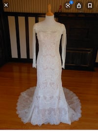 Oleg Cassini Wedding Dress size 12