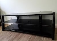 Black Glass TV Stand Indialantic