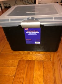 Staples storage box! New York, 11230