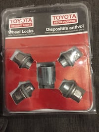 Wheel lock nuts for TOYOTA  Mississauga, L5M 5T7