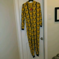 NEW: adventure time Jake the Dog patterned onesie ADULT MEDIUM  One Pi Edmonton, T6X 1J9