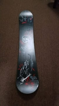 Roots 159 cm board custom paint job and binds
