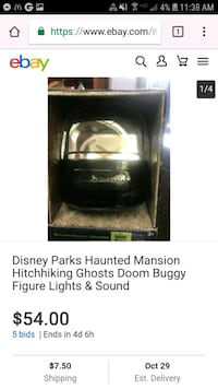 Haunted mansion room buggy Chino Hills