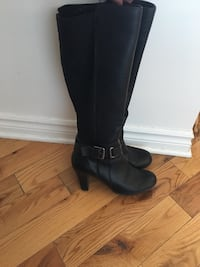 Women boots high heels size 8