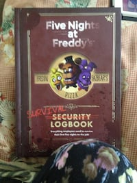 Brand New Five Nights At Freddy's Survival Security LogBook $10 2254 mi