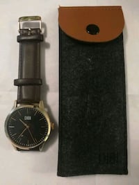 Brand new DIBI watch with leather band Toronto, M5J 2S7