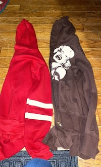 Hoodie and zip up size small