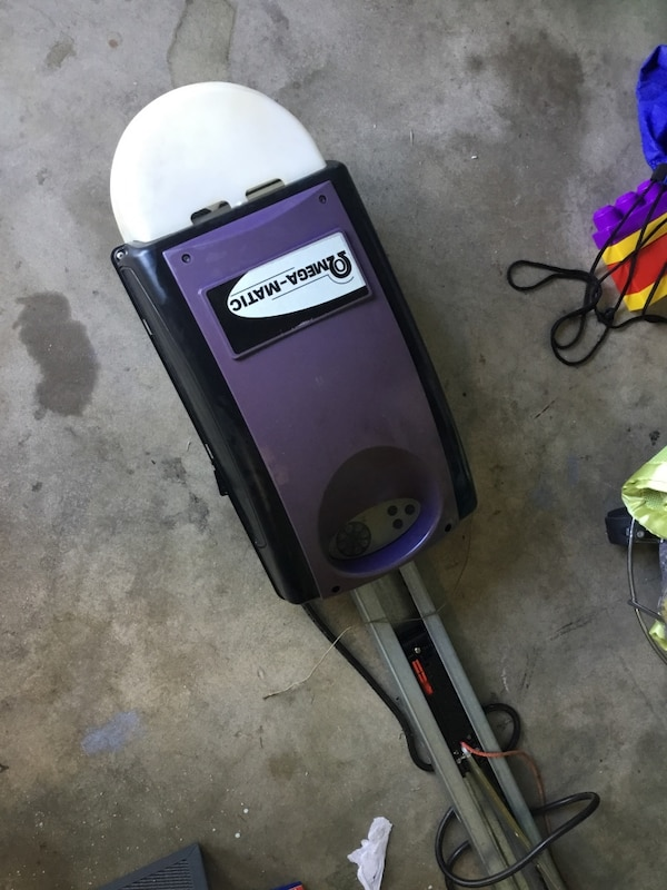 Used Omega Matic Garage Door Opener With Remote For Sale In Palm Bay