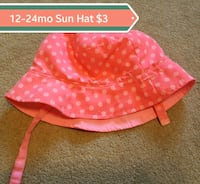 pink and white polka dot print textile Barrie