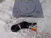 PS1 CONSOLE WITH 1 NEW CONTROLLER