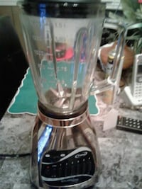 12 speed silver blender, glass jar Louisville, 40216