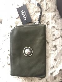 Green Leather Versace Versus Clutch Vancouver, V5M 3K4