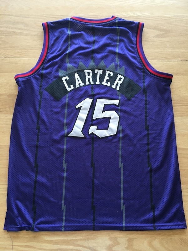 pretty nice 17e17 7ed1b vince carter jersey for sale