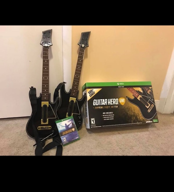 Guitar hero live for Xbox one