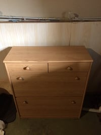 brown wooden 3-drawer chest Kelowna, V1W 1G1