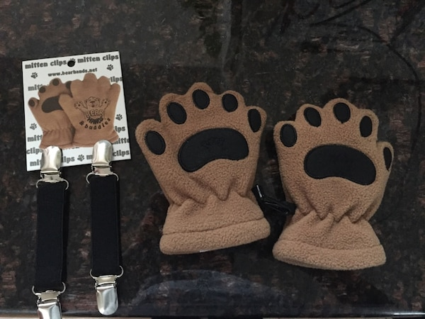 New mittens with clips 6371abde-2c1a-4a7e-afca-75416508c32b