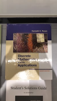 Discrete Mathematics & It's Applications Vaughan, L4L 8R9