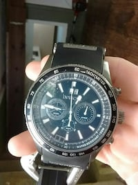 round black Invicta chronograph watch with black strap Abbotsford, V2T 2S6