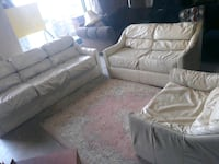 Sofa bed couch with loveseat and chair Hampton