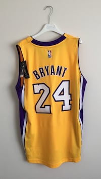 yellow and purple Bryant 24 basketball jersey Calgary, T2Y 2E5