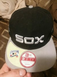 black and gray Chicago White Sox 9fifty snapback Ranson, 25438