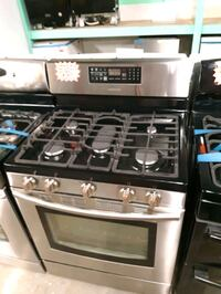 SAMSUNG STAINLESS STEEL 5 BURNERS GAS STOVE WORKING PERFECTLY Baltimore, 21201