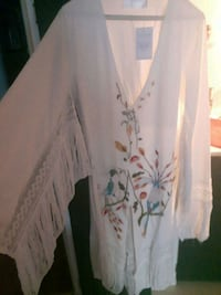 beautiful hand embroidered dress . Westbank, V4T
